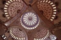 Turkey, Istanbul, Blue Mosque, Sultan Ahmet Camii,