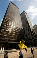 Seagram Building by Ludwig Mies van der Rohe, Park Avenue, Midtown, Manhattan, New York City, New York, USA