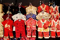 Thailand, Bangkok, Chinatown, Chinese Childrens Clothes for sale