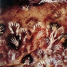 Argentina - Patagonia - Cueva de las Manos, ('Cave of the Hands') (UNESCO World Heritage List, 1999). Cave paintings