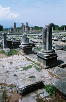 Greece, Macedonia, Philippi, Roman forum