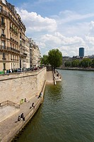 Seine, Paris, France