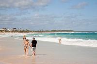 spiaggia dell´hotel barcelo punta cana, hispaniola, repubblica dominicana, caraibi