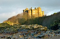 Culzean Castle near Ayr in Ayrshire, Scotland, UK  Designed by Robert Adam in the 18th C  Once home of the Kennedy family