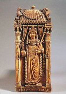 BYZANTINE ART, fifth century AD, Emperor ARIANNA, IVORY  Florence, Museo Nazionale Del Bargello (Bargello National Museum)