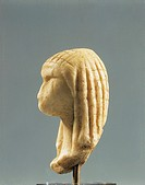 France - Paleolithic Period - Ivory carved Lady of Brassempouy  Saint Germain-En-Laye, Musée Des Antiquités Nationales (Archaeological And Middle Age ...