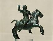 ART OF TRACE II-III century votive bronzes depicting a Knight Trac DRUMOHOR  Sofia, Natsionalen Arheologitcheski Muzej Ban (Archaeological Museum)