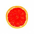 a slice of orange