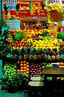 Fruit stand at the streets of istanbulIstanbul