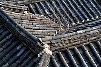 Seoul (South Korea): traditional roofs in the Bukchon neighborhood