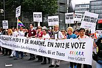 The Gay Pride Parade 2011, Paris, France