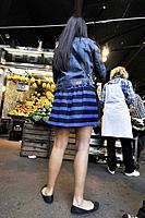 La Boqueria market, Barcelona, Catalonia, Spain.