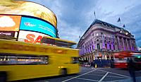 Piccadilly Circus, London, England, UK