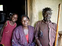 Three generations, Lira, Uganda