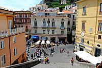 Piazza Duomo St  Andrew´s Cathedral Amalfi Italy Mediterranean Sea Coast Cruise Europe