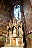 Chapel of St  Anna Nostinska, Interior St  Vitus Cathedral, Prague Castle, Hradcany, UNESCO World Heritage Site, Prague, Bohemia, Czech Republic