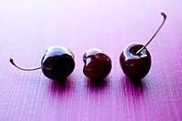 Still Food: Three Cherries