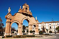 Puerta de Estepa, Antequera, Malaga Province, Andalusia, Spain.