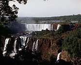 Brazil - Parana State - Iguazu National Park (UNESCO World Heritage List, 1984, 1986) - Foz do Iguaçu, Iguaçu waterfalls.