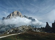 Veneto - Dolomites - Around Cortina D'Ampezzo (BL). The Tofana of Rozes