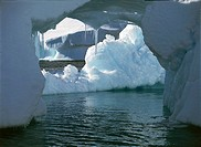 Antarctica - Antarctic Peninsula - Paradise Bay. Iceberg.