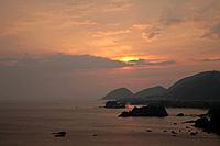 Tango Matsushima at sunrise