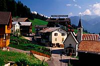Italy, Trentino Alto Adige, Val di Fassa, Vallalonga village