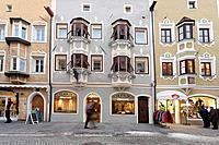 Italy, Trentino Alto Adige, Vipiteno, town street