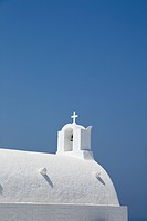 church in Santorini, Cyclades Islands, Cyclades Prefecture, Greece, Europe