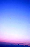 Twilight Sky. Nagano Prefecture, Japan