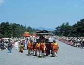 Aoi Festival, Saiodai, imperial palace, Kyoto, Kyoto, Kinki, Japan