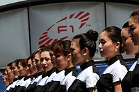 Grid Girls, Chinese Grand Prix, Shangai, China