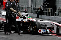 Sergio Pérez, Testing, Circuit de Catalunya, Barcelona, Espanha