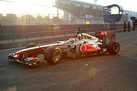Lewis Hamilton, Testing, Jerez de la Frontera, Espanha