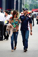 Pastor Maldonado, Gabriella Tarkany, Formula One, Spanish Grand Prix, Barcelona, Espanha