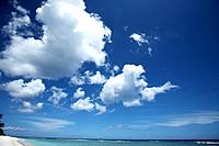 Beach and sky, Guam, USA