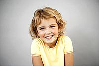 Portrait of smiling girl 7_9, studio shot