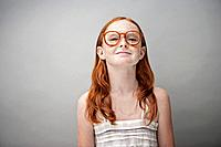 Portrait of freckled girl 7_9