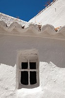 White village of Monda, Sierra de las Nieves, Malaga province, Andalusia, Spain