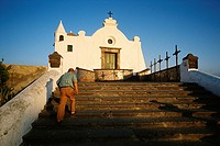 Ischia  Italy  The 16th C church of Madonna del Soccorso in Forio