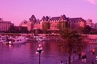 FAIRMONT EMPRESS HOTEL INNER HARBOUR VICTORIA VANCOUVER ISLAND BRITISH COLUMBIA CANADA