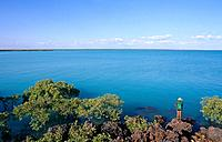 Broome has a beautiful coastline,and there is good sea fishing off the rocks in the shallow warm waters.