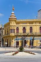 Casino La Constancia, Sant Feliu de Guíxols, Costa Brava, Girona province, Catalonia, Spain