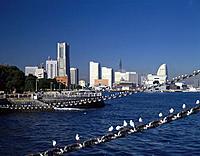 Yokohama Minatomirai, Kanagawa Prefecture, Honshu, Japan