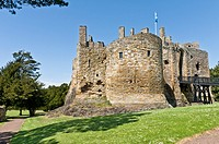 Dirleton Castle, East Lothian, Scotland, UK