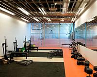 Weight Room in a Gymnasium