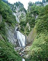 Waterfalls, Kamikawa town, Hokkaido prefecture, Japan
