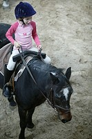 Poney_riding lesson.