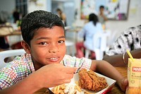 Orphanage Saint Joseph in Penang, Malaysia.