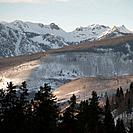 Winter landscape in Vail, Colorado
